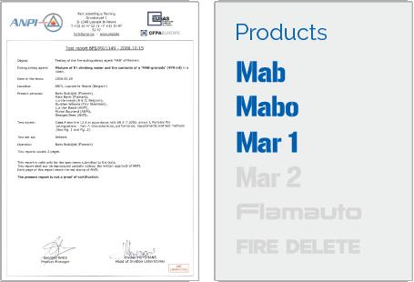 Certificates – Flamark